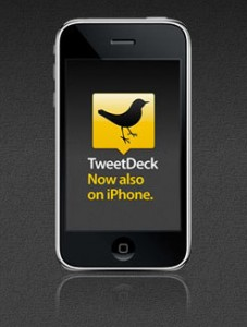 TweetDeck. Now also on iPhone.