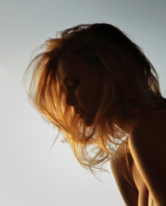 "Picture of Bar Refaeli, picked for her blog post ""Decisions"""