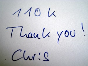 110.000 unique visitors