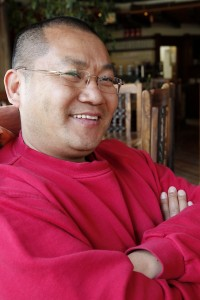 Picture of Lama Kelzang.