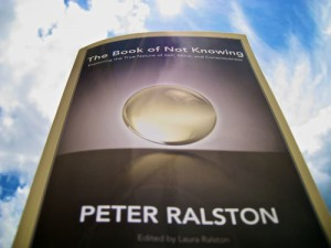 Book cover of The Book of not Knowing