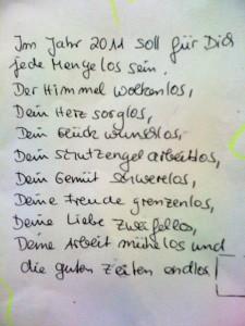 wolkenlos - poem