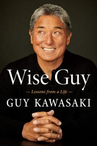 Book cover of Wise Guy by Guy Kawasaki.